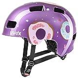 Uvex Unisex Jugend, hlmt 4 Fahrradhelm, purple, 51-55 cm