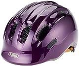 Abus Smiley 2.0, Unisex kinder Fahrradhelm,violett (royal purple), M (50-55 cm)