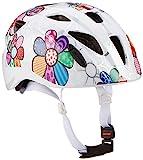 ALPINA Ximo Flash Fahrradhelm, Kinder, white flower, 49-54