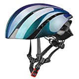 SFBBBO fahrradhelm Ultraleichter Fahrradhelm Radfahren Eps Integral geformter Helm Reflektierender MTB Fahrrad-Schutzhut für Männer Frauen 57-62 cm LK-1CP
