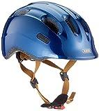 ABUS Smiley 2.0 Royal Kinderhelm - Robuster Fahrradhelm für Kinder - für Mädchen und Jungs - 77545 - Blau/Gold, Größe M