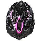SFBBBO fahrradhelm Fahrradhelm Ultraleicht Eps + PC-Abdeckung MTB Rennradhelm Integral geformter Fahrradhelm 2020 Radfahren sicher Kappe Pink